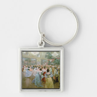 Court Ball at the Hofburg, 1900 Keychain