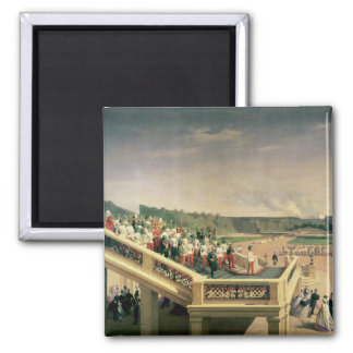 Court banquet in the Gardens of Schonbrunn Palace Square Magnet