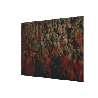 Court Banquet in the Great Antechamber Gallery Wrapped Canvas