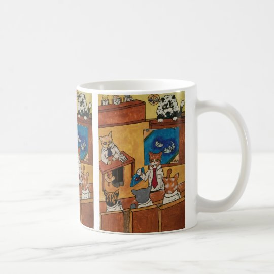 Court Case Cats Coffee Mug