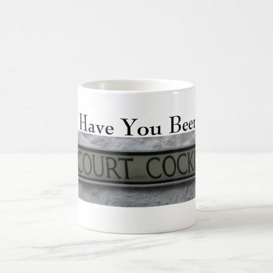 Court Cocking (5958) Classic White Mug 11oz