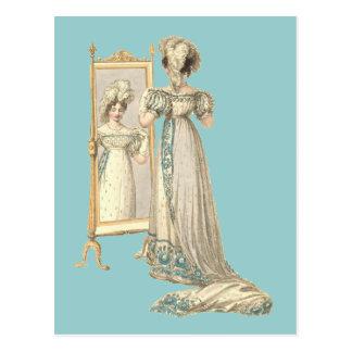 Court Dress 1822 Postcards