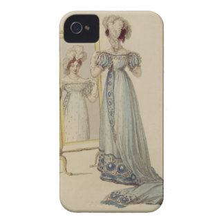 Court dress, fashion plate from Ackermann's Reposi Case-Mate iPhone 4 Case