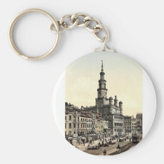 Court House and Old Market Posen Germany i e Key Chains