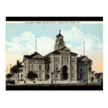 Court House San Diego California 1921 Post Cards