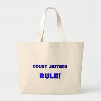 Court Jesters Rule! Large Tote Bag