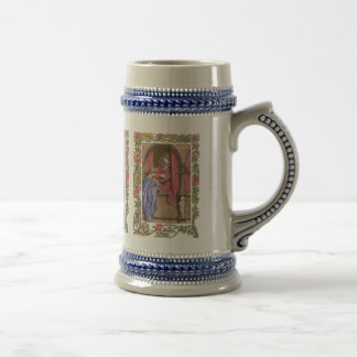 Court Musician and Lady 18 Oz Beer Stein