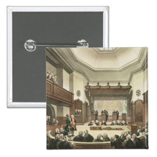 Court of Common Pleas, Westminster Hall 15 Cm Square Badge