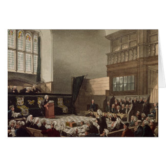 Court of Exchequer, Westminster Hall Greeting Card