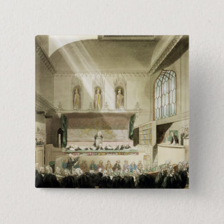Court of King's Bench, Westminster Hall 15 Cm Square Badge