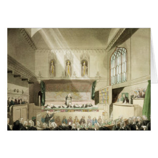 Court of King's Bench, Westminster Hall Greeting Card