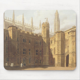 Court of King's College, Cambridge, from 'The Hist Mouse Mat