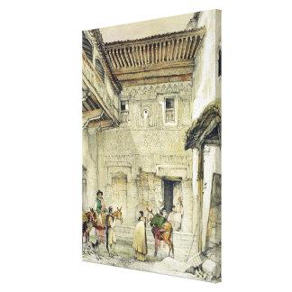 Court of the Mosque (Patio de la Mesquita), from ' Canvas Print