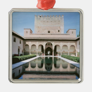 Court of the Myrtles, begun in 1333 Christmas Ornament
