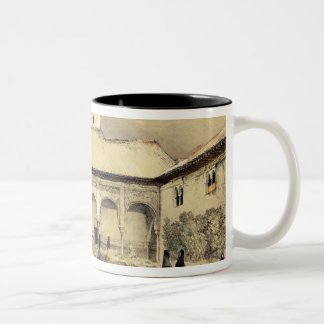 Court of the Myrtles (Patio de los Arrayanes) and Two-Tone Coffee Mug