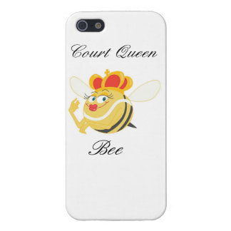 Court Queen Bee iPhone 5/5S Cases