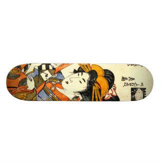 Courtesan Hanaogi 1801 Skateboard Deck