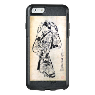 Courtesan Placing a Hairpin in Her Hair OtterBox iPhone 6/6s Case