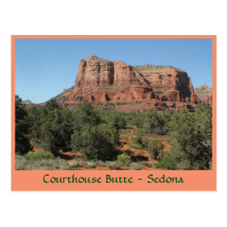 Courthouse Butte Sedona Arizona Post Card