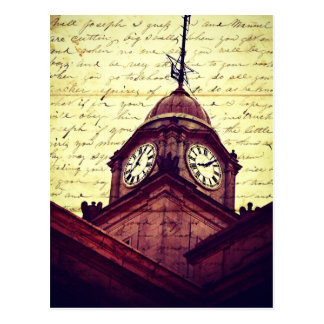 Courthouse Clock Postcard