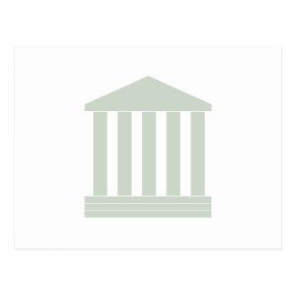 Courthouse Symbol Postcard