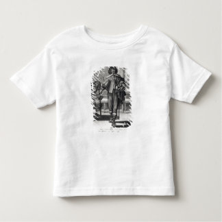 Courtier following the last royal edict toddler T-Shirt