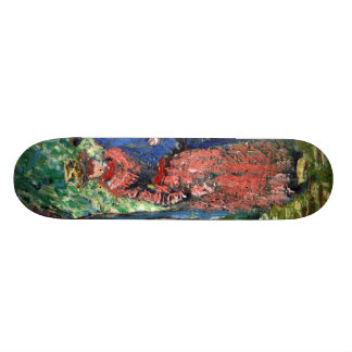 Courting Couple by Vincent Van Gogh Skateboards