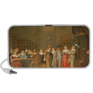 Courting Scene, 1644 (oil on canvas) iPod Speakers