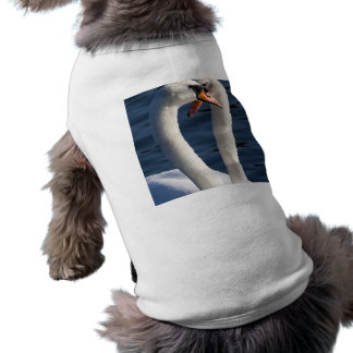 Courting Swans Sleeveless Dog Shirt