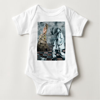 COURTLY JESTERS BABY BODYSUIT