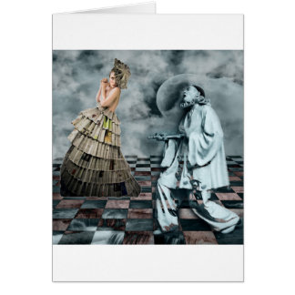 COURTLY JESTERS GREETING CARD
