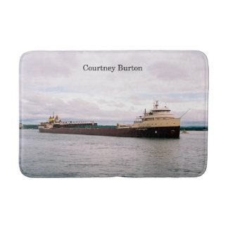 Courtney Burton bath mat