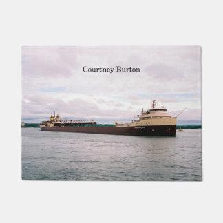 Courtney Burton door mat