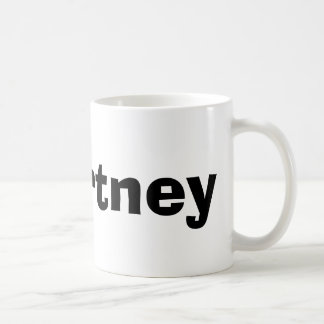 Courtney Coffee Mug