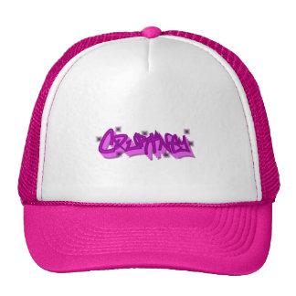Courtney Graffiti Trucker Hat Cap