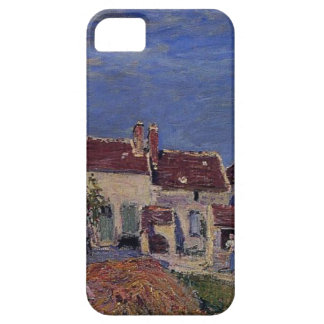 Courtyard at Les Sablons by Alfred Sisley iPhone 5 Cover