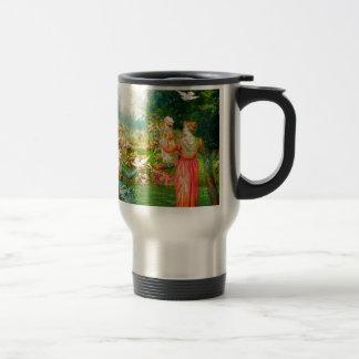 COURTYARD CHEER.jpg Coffee Mugs