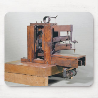 Couseuse', the first sewing machine, 1830 mouse pad