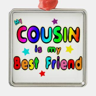 Cousin Best Friend Christmas Ornament