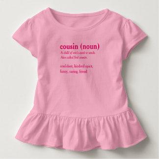 Cousin dictionary definition custom t-shirt