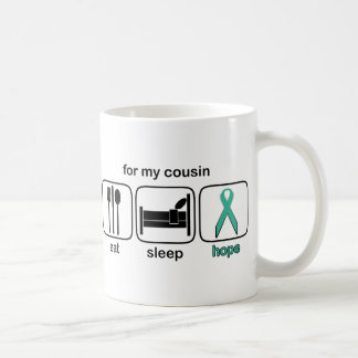 Cousin Eat Sleep Hope - Ovarian Coffee Mug