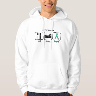 Cousin Eat Sleep Hope - Ovarian Sweatshirt