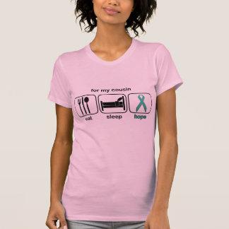 Cousin Eat Sleep Hope - Ovarian T-Shirt