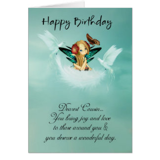 happy cousins day greeting cards  zazzle.co.uk, Birthday card