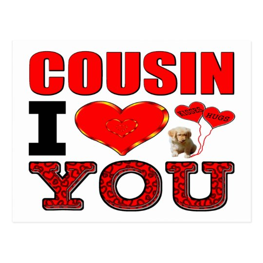 Cousin I Love You Postcard