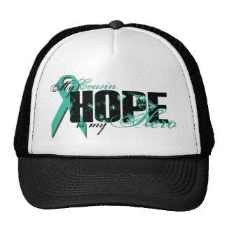 Cousin My Hero - Ovarian Hope Mesh Hat