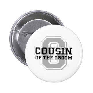 Cousin of the Groom Cheer 6 Cm Round Badge