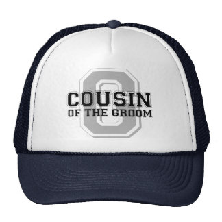 Cousin of the Groom Cheer Cap