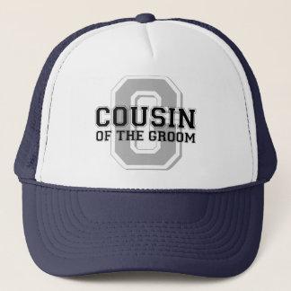 Cousin of the Groom Cheer Trucker Hat