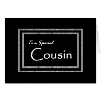 COUSIN Page Boy Wedding Invitation
